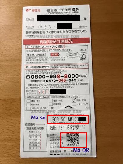 cách hẹn nhận lại đồ bưu điện qua internet