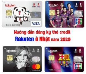 đăng ký thẻ credit rakuten ở nhật
