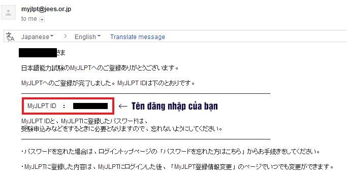 đăng ký thi jlpt qua internet