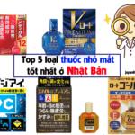 thuốc nhỏ mắt tốt nhất ở Nhật