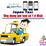 ứng dụng gọi taxi số 1 ở nhật