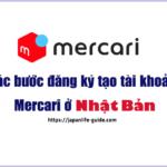 đăng ký tạo tài khoản mercari
