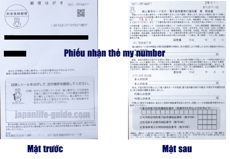 Nhận thẻ my number online