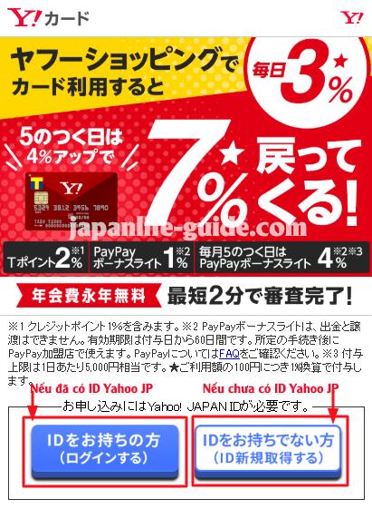đăng ký tài khoản yahoo japan