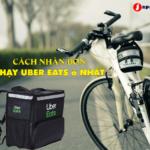 cách chạy uber eats ở nhật
