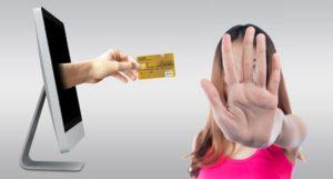 lý do bị từ chối thẻ tín dụng ở nhật