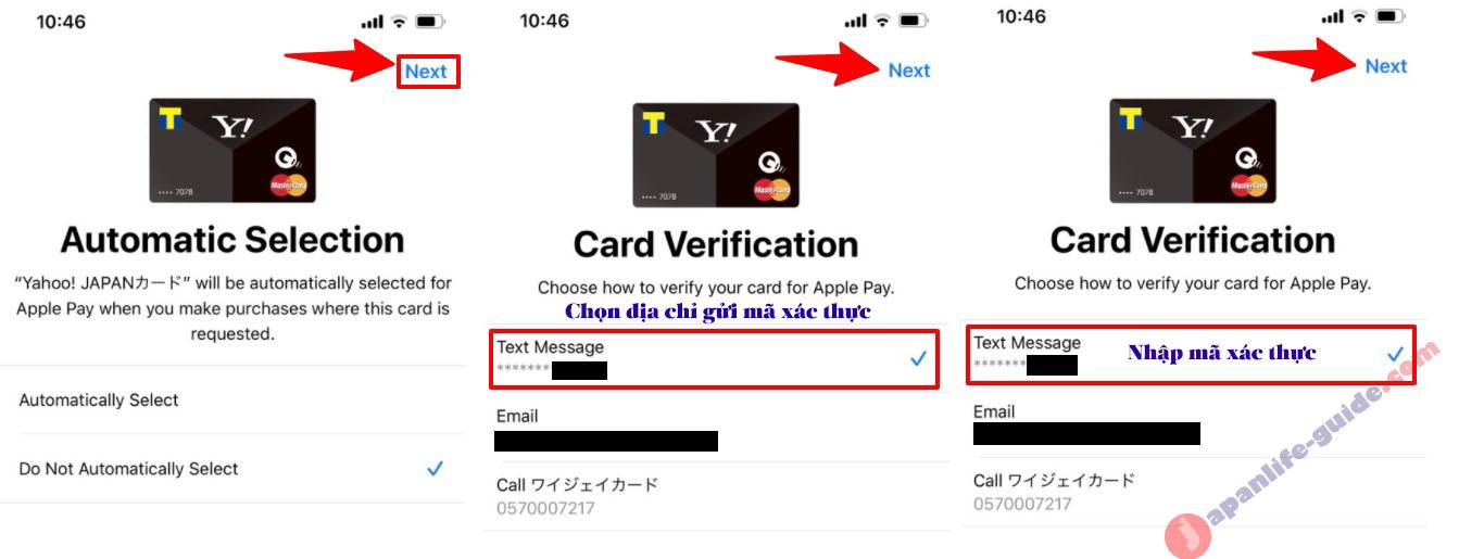 thêm thẻ tín dụng vào iphone