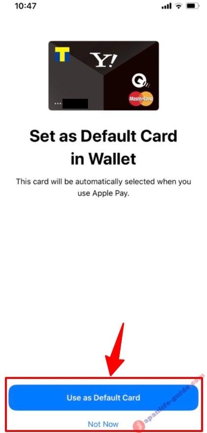 cách thêm thẻ vào wallet