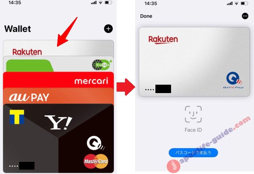 thanh toán apple pay trên iphone