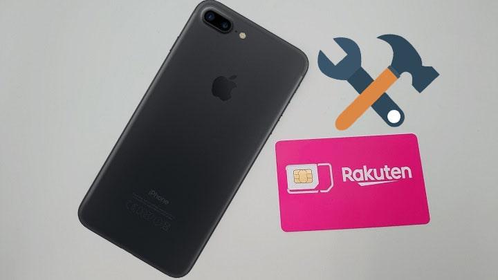 cài đặt cấu hình sim rakuten cho iphone
