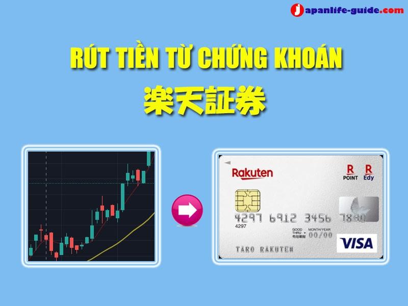 rút tiền từ tài khoản chứng khoán Rakuten Shoken