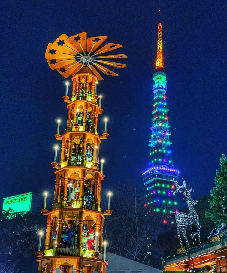 địa điểm chơi giáng sinh ở tokyo