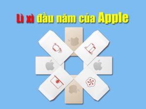 đợt bán hàng đầu năm apple
