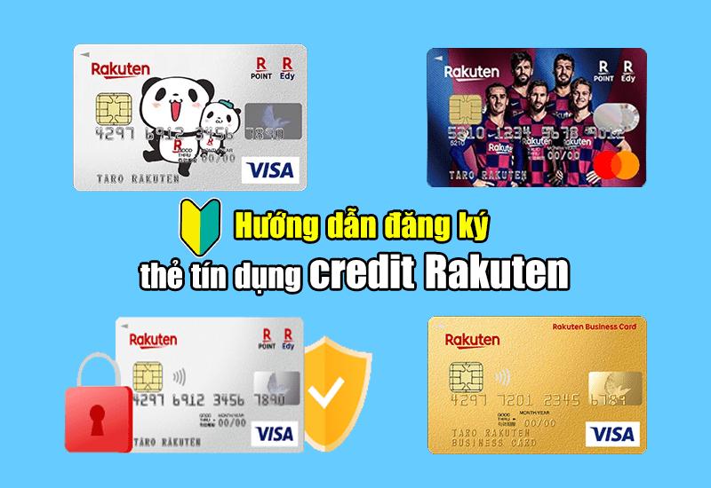 đăng ký thẻ credit rakuten