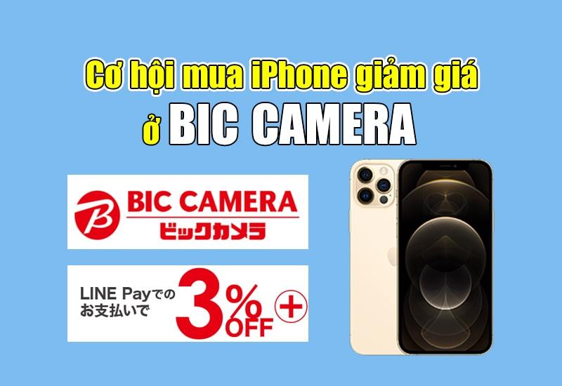 mua iphone ở bic camera