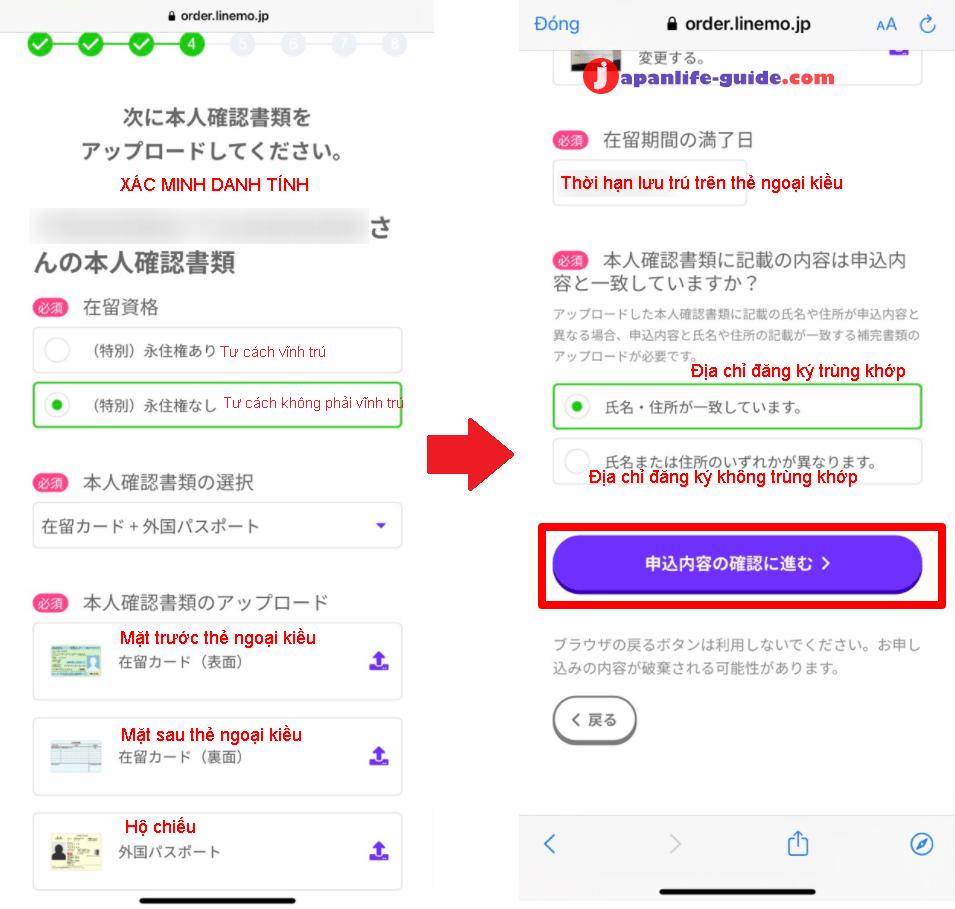 cách đăng ký mạng softbank